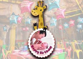 E05 Die Cut Birthday Logo (Animal Theme)