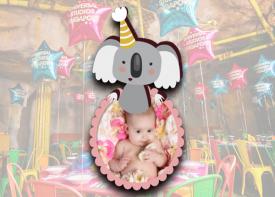 E09 Die Cut Birthday Logo (Animal Theme)