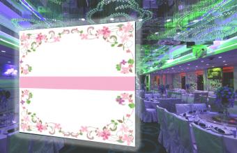 E62 婚禮背景板 (200CM闊 x 230CM高)