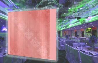 E64 粉紅花花婚禮背景板 (200CM闊 x 230CM高)