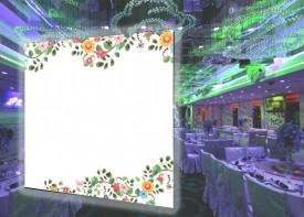 E63 婚禮背景板 (200CM闊 x 230CM高)