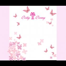 D07 蝴蝶主題 (適用: 背景板/邀請卡)