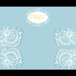 D10 時尚主題 (適用: 背景板/邀請卡)