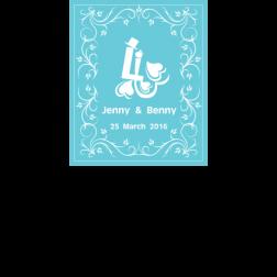 D18 綠色主題 (適用: Diecut 婚宴Logo)