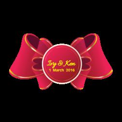 D20 蝴蝶主題婚禮 (適用: Diecut 婚宴Logo)