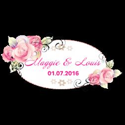 D29 花主題婚禮 (適用: Diecut 婚宴Logo)
