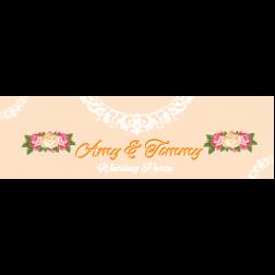 D31 花主題婚禮 (適用: 橫額)