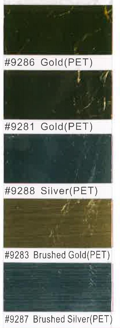 Metallic PET
